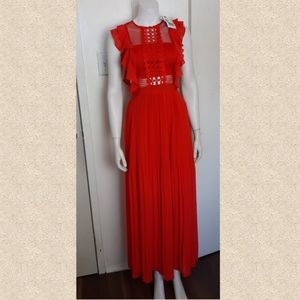 NWT Evening cocktail dress - red  made in …